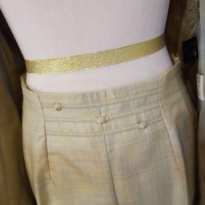 Escada Jackets & Coats - Escada Sage Green Pant Suit 34 2-4